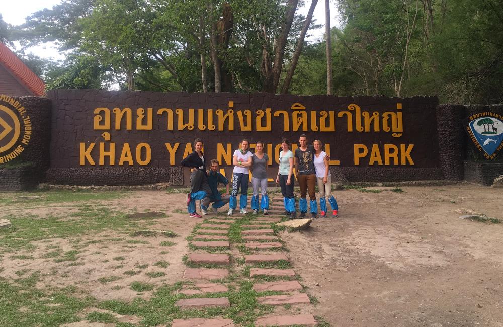 Khao Yai nationaal park Thailand