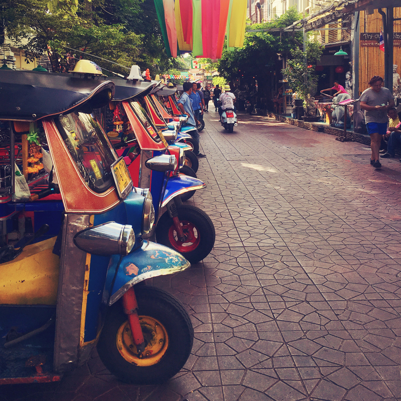 tuctuc oplichten in bangkok