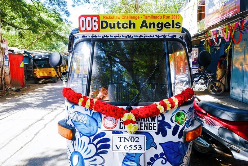 Rickshaw Challenge Zuid-India