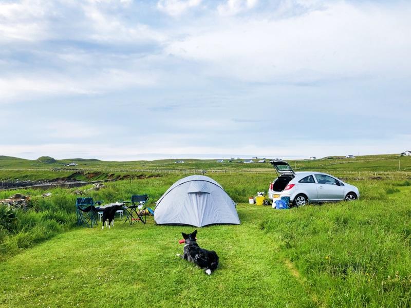 Isle of Skye: de mooiste plekken om te kamperen – diverse campsite
