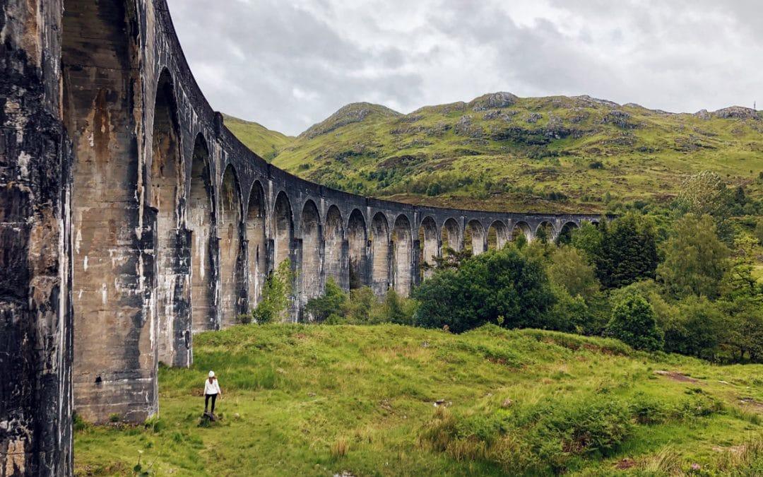 Bezoek het Glenfinnan Viaduct: bekend van Harry Potter