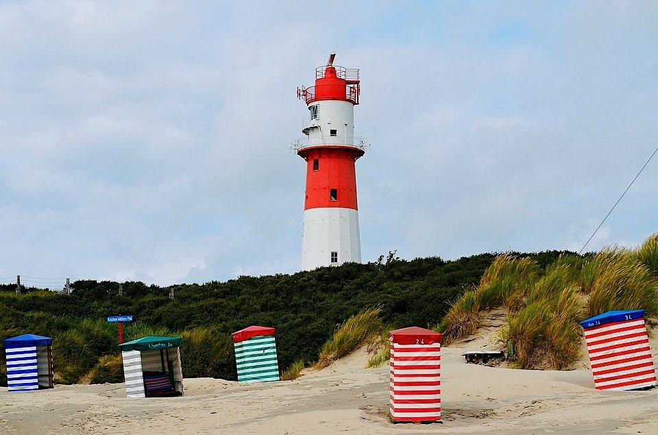 De Oost-Friese Waddeneilanden Langeoog van Duitsland bezoeken