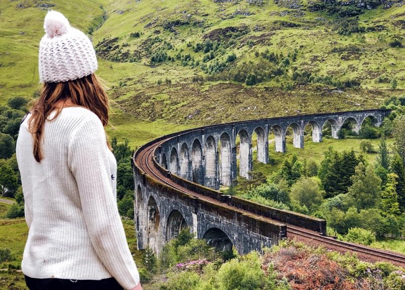 Bezoek de Harry Potter brug het Glenfinnan Viaduct in Schotland