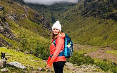 De Lost Valley in Glencoe, hiken in Schotland