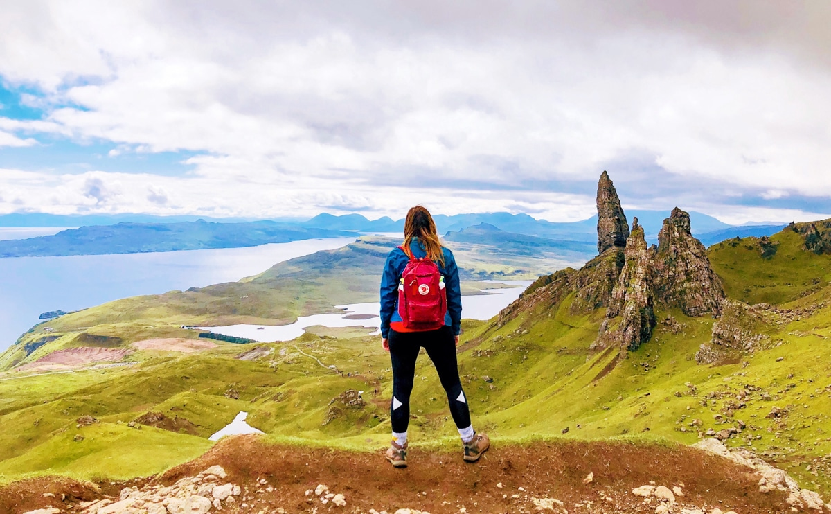 Old Man of Storr hike Schotland