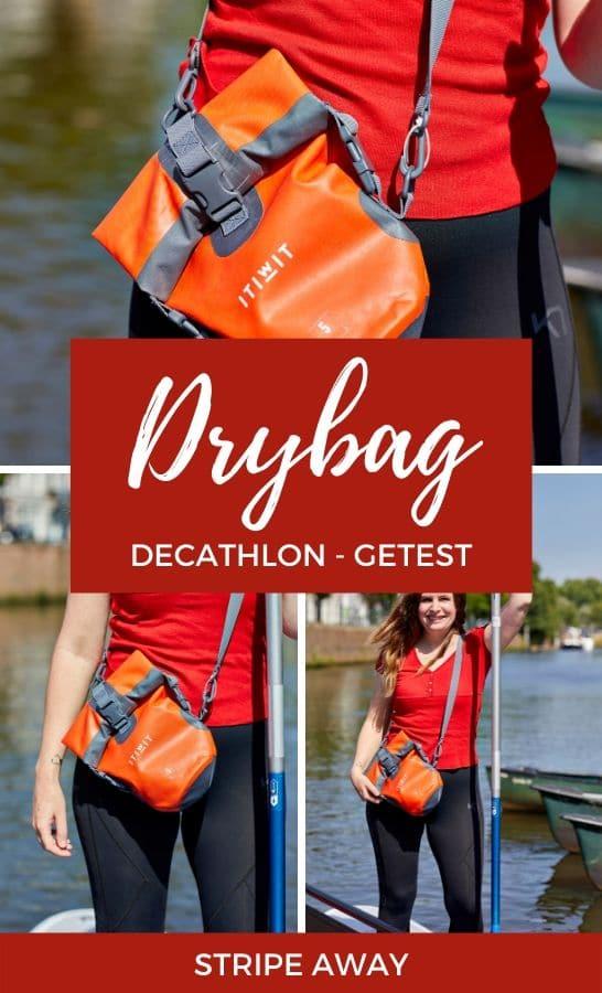 Drybag van Decathlon
