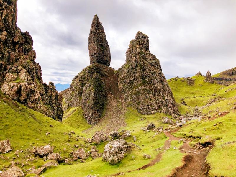Old Man of Storr hike Schotland