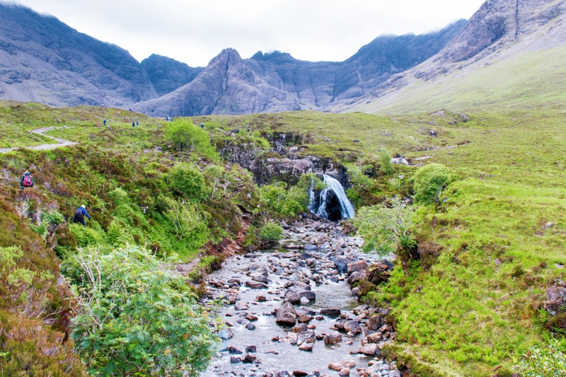 Fairy Pools bezoeken in Schotland