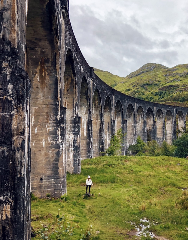 Bezoek het Glenfinnan Viaduct in Schotland