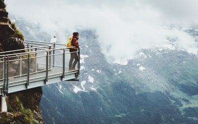 Bezoek aan de First Cliff Walk in Grindelwald
