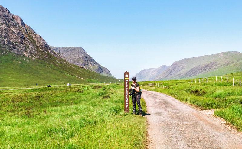 Wandelen over de West Highland Way