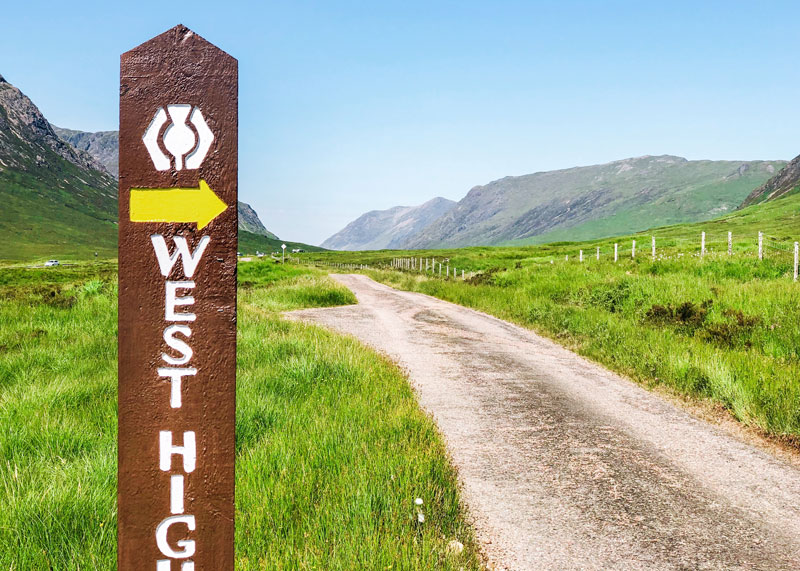 Routebeschrijving West Highland Way