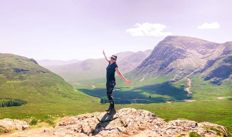 Beklimmen van de Devil's Staircase in Schotland