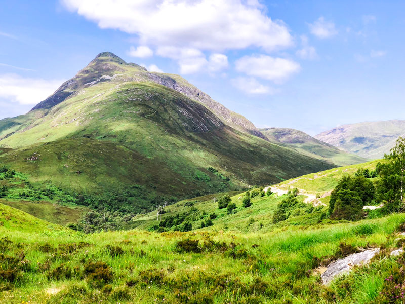 West Highland Way laatste dag