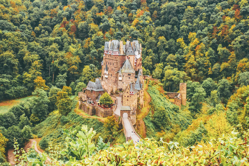 Burg Eltz: een sprookjeskasteel uit een Disneyfilm