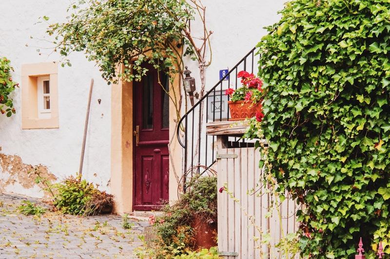 Blankenheim het kleinste huis van Duitsland