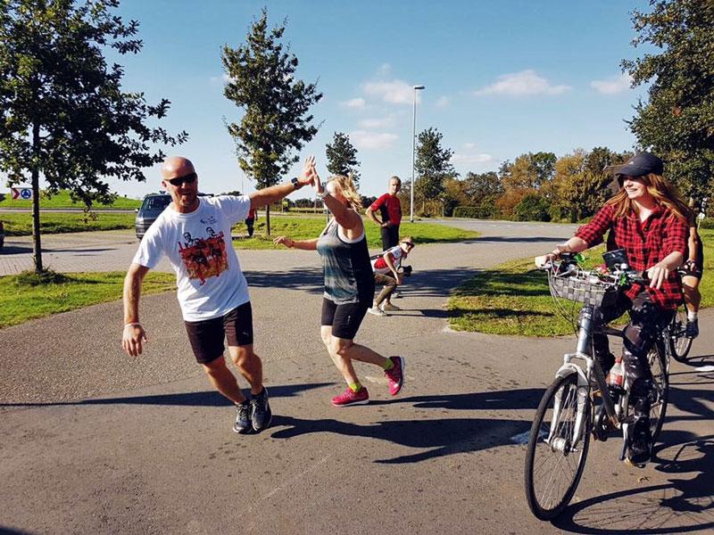fietsen voor de social run, social run, fietsen, mountainbiken, fietsen en mountainbiken, wereld fiets dag