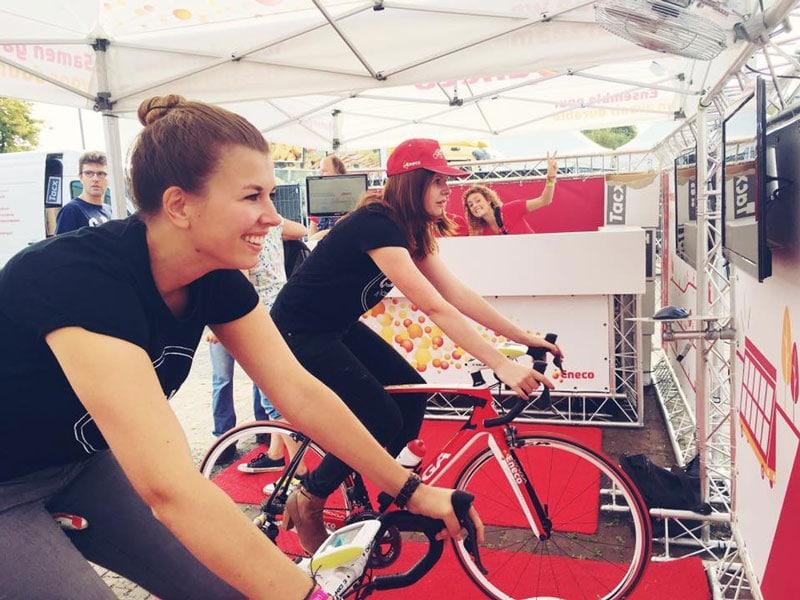 fietsen voor cycle for plan, wielrenner, fietsen en mountainbiken, wereld fiets dag