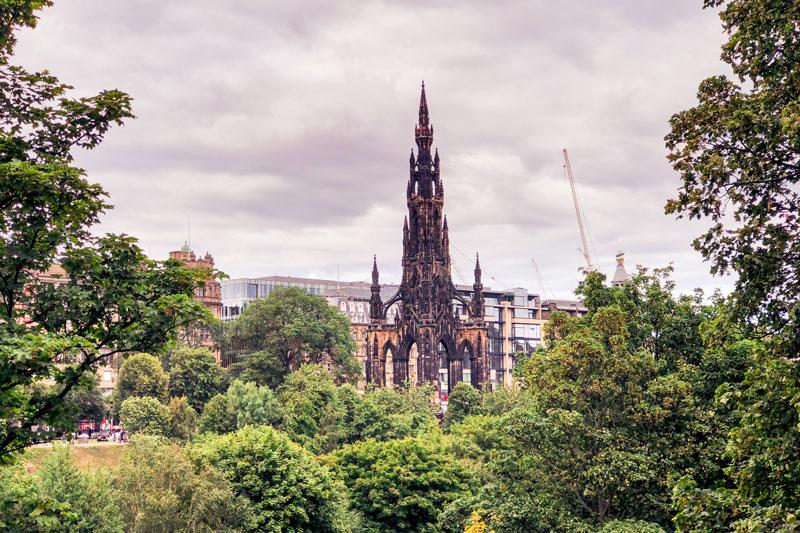 The Scott Monument Edinburgh