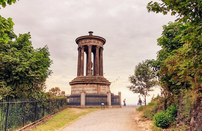 Bezoeken van Calton Hill in Edinburgh