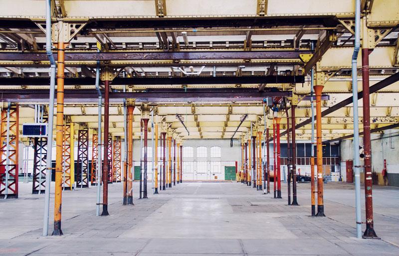 Urbex fotografie: Wagenmakerij Spoorzone Tilburg