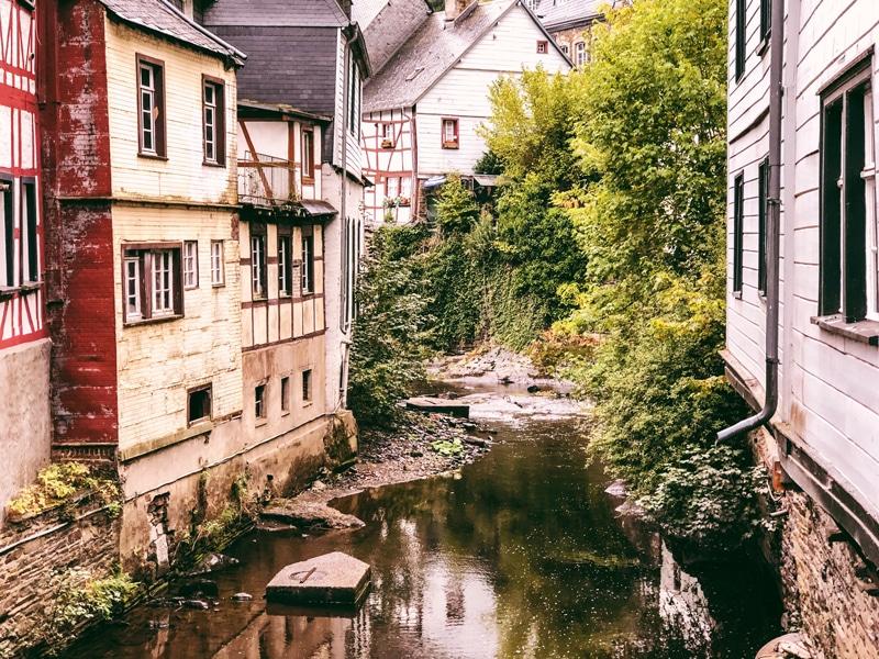 Monschau Duitsland bezoeken