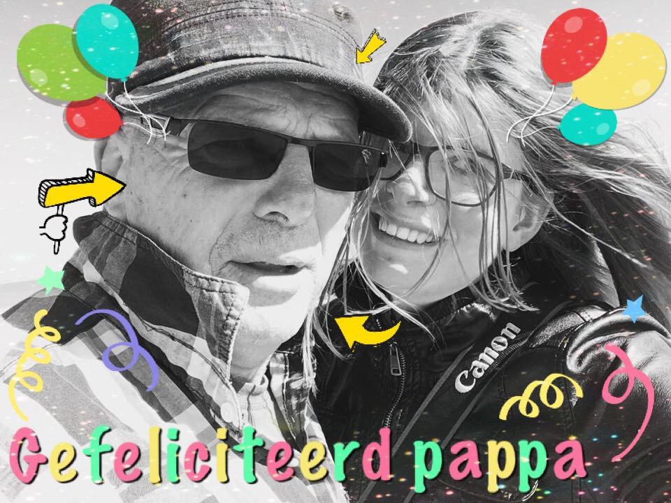 Verjaardag pappa, vader, pappa, verjaardag, selfie