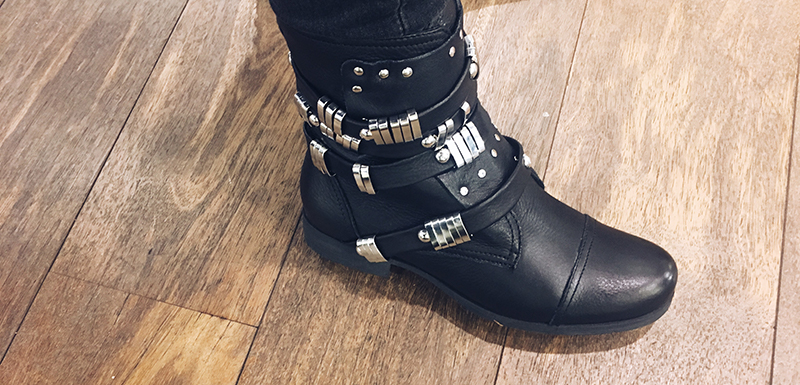 backstage maart, nieuwe schoenen,