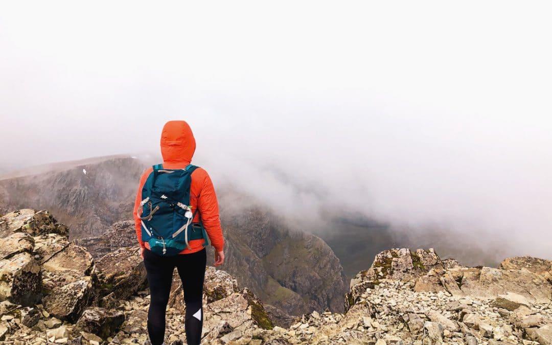 De Ben Nevis beklimmen | de hoogte berg in de Verenigd Koninkrijk