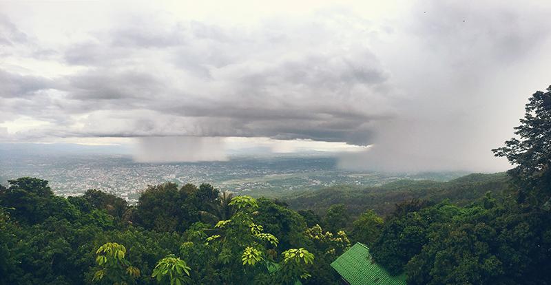 Uitzicht Doi Suthep