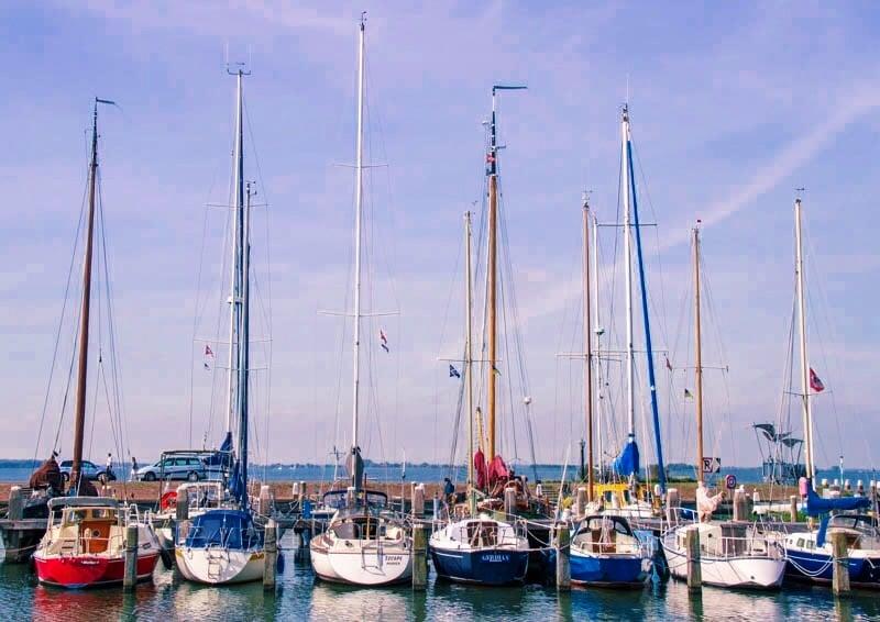 De haven van Marken
