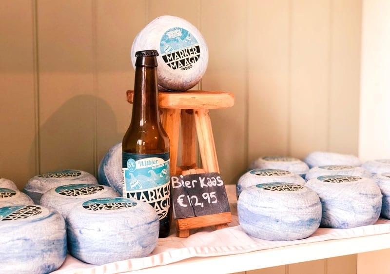 Kaas gemaakt van Marken bier