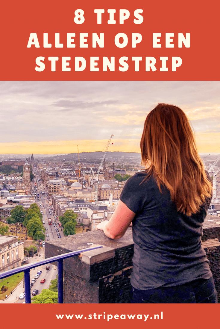 Alleen op stedentrip, alleen op reis, soloreizen, alleen op reis naar een stad, 9 tips om alleen door een stad te reizen, stedentrip,