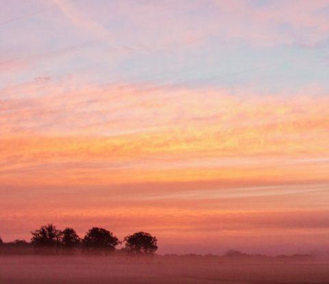 Zonsondergang Nederland