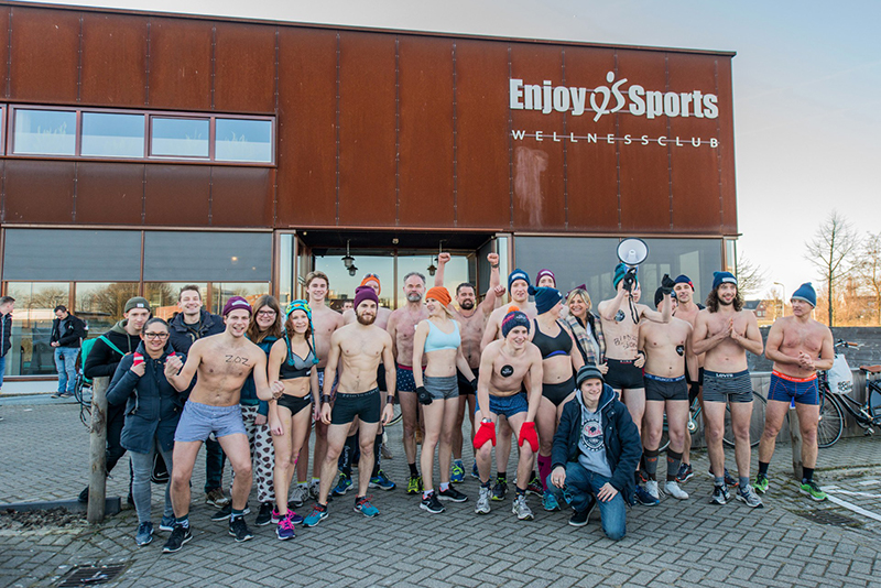 koude kilometers, koude kilometers breda, lopen in je ondergoed, toppers, breda, wat te doen in breda, hardlopen, fietsen breda
