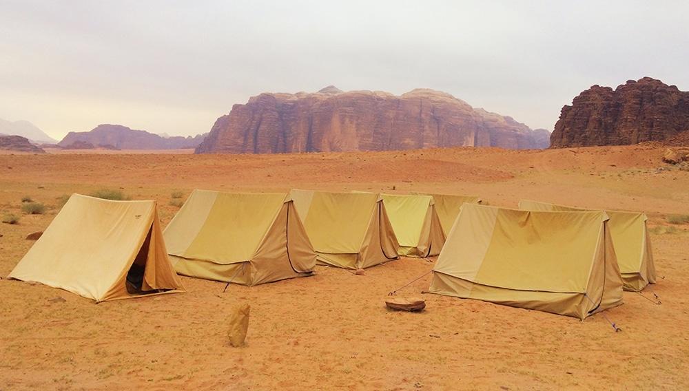 Wadi Rum: wakker worden op een magische plek
