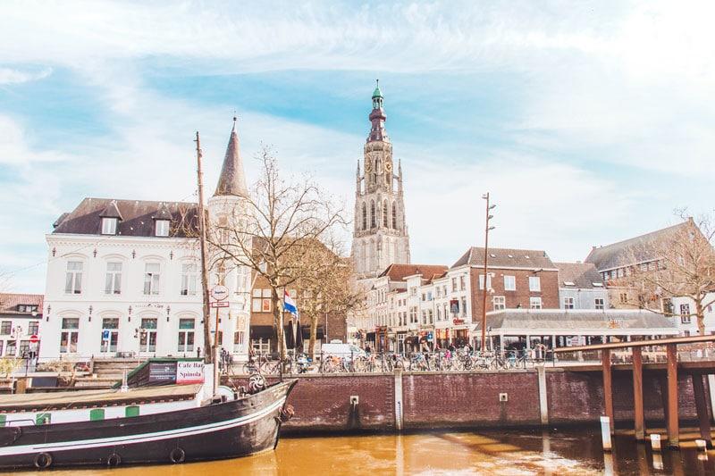Grote Kerk Breda: torenbeklimming