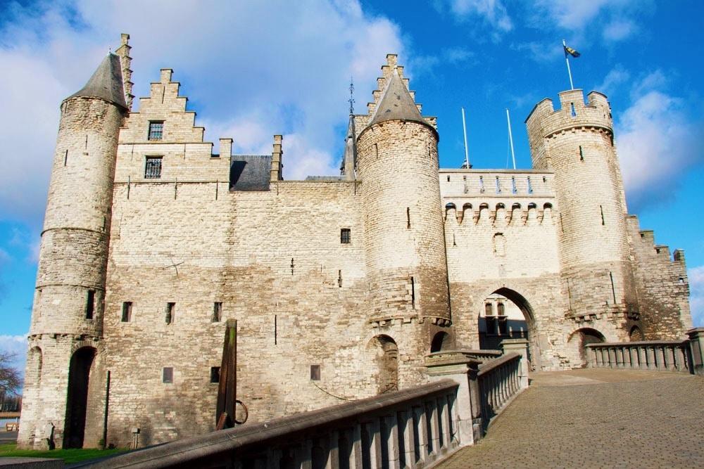 Het Steen – het kasteel in hartje Antwerpen