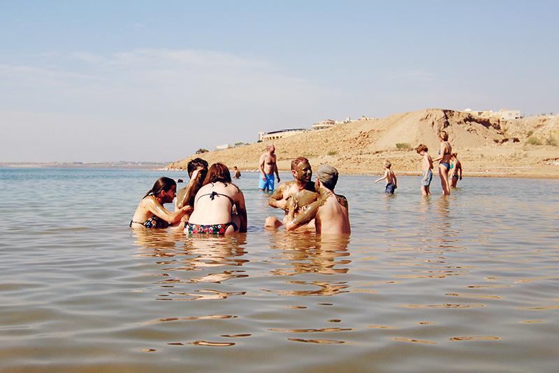 Dode Zee, Dode Zee jordanie, jordanie