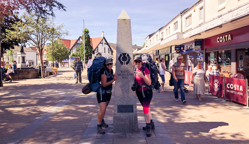 West Highland Way hiken begin