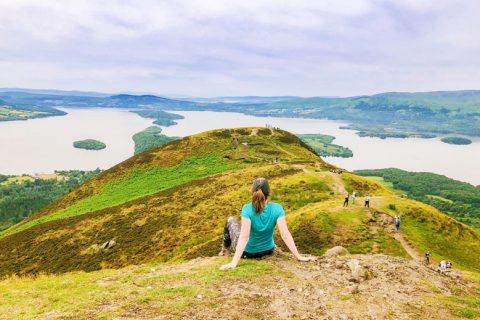 Conic Hill Schotland, beklimmen Conic Hill Schotland, Conic Hill, outdoor in schotland, bergen beklimmen in schotland, schotland bezienswaardigheden,