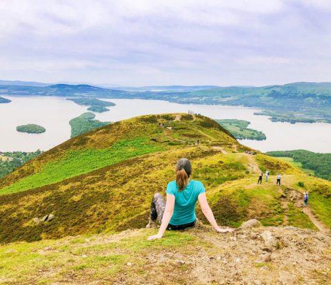 Conic Hill Schotland, beklimmen Conic Hill Schotland, Conic Hill, outdoor in schotland, bergen beklimmen in schotland, schotland bezienswaardigheden,