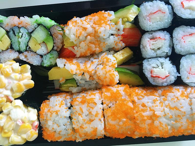 backstage april, maandoverzicht, maandoverzicht april, overzicht, ziek, ziek en sushi eten
