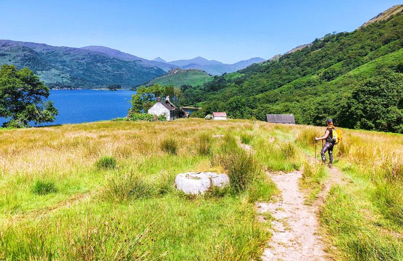 West Highland Way van Inversnaid naar Crianlarich