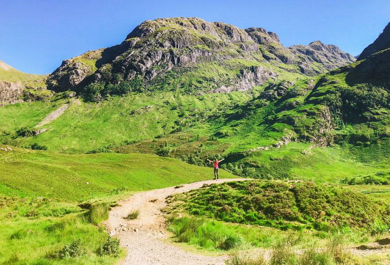 hiken van de West Highland Way, West Highland Way, West Highland Way schotland, hiken West Highland Way, West Highland Way glencoe, West Highland Way bridge of orchy,
