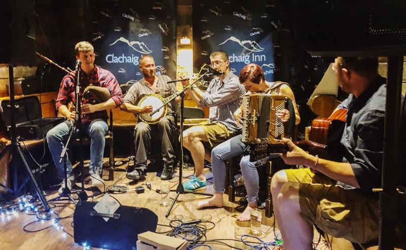 Schotse live muziek in Glencoe