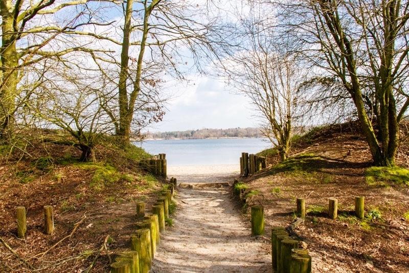 wandeling parkeren Galderse meren