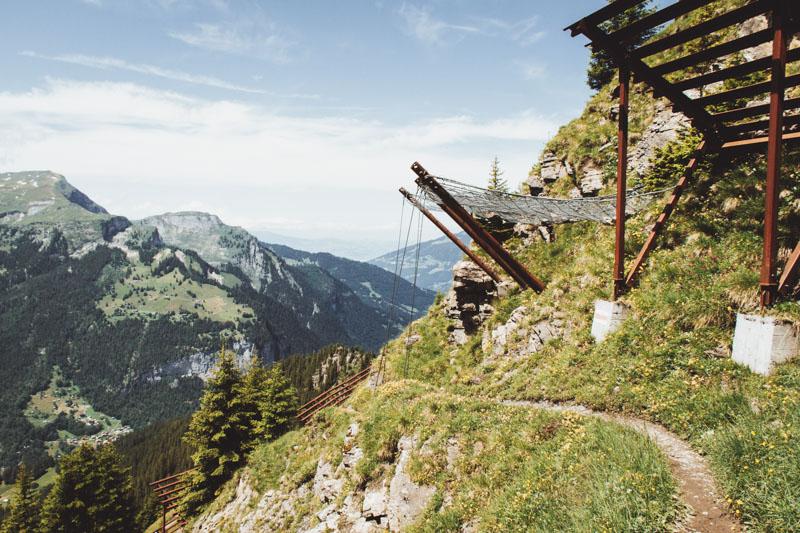 Gemsenweg Mannlichen Zwitserland