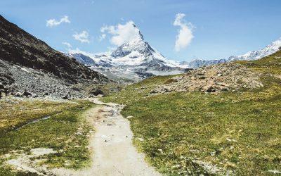 Hiken van Gornergrat naar Zermatt