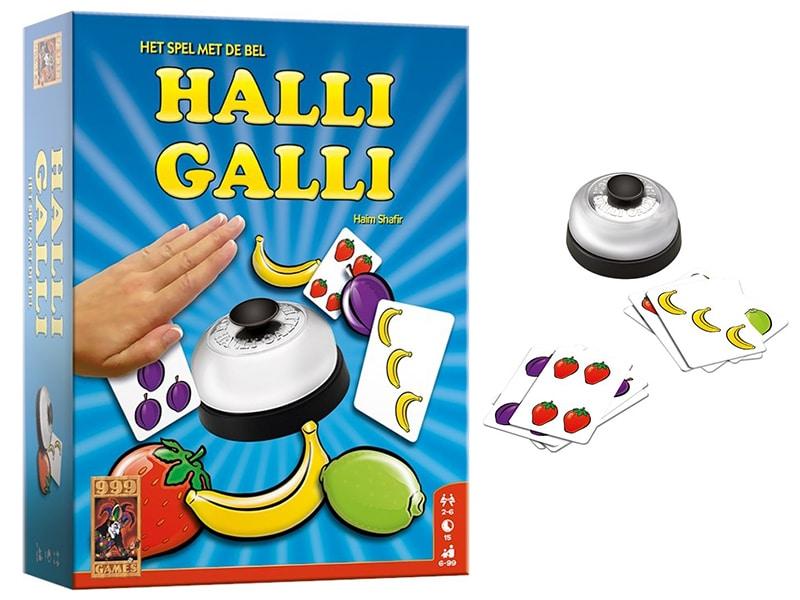 Reisspellen voor op reis, reisspel Halli Galli